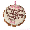 Customized Birthday Cakes for Dogs - SIZE