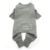 Sweet Dreams Thermal Pajamas - Alloy Gray