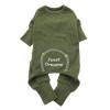 Sweet Dreams Thermal Pajamas - Herb Green