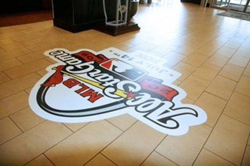 ... Floor Decals   FloorTalkers Floor Graphic Stickers ...