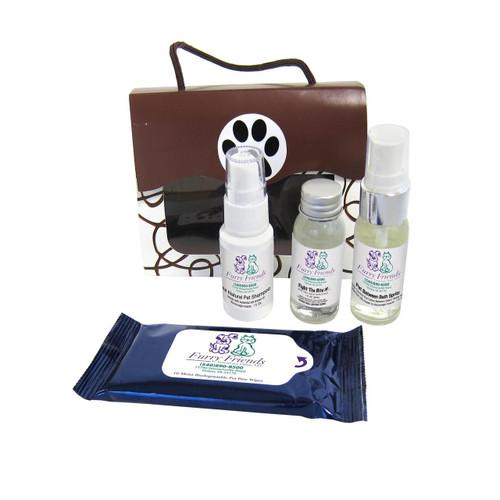 """""""SPAW"""" Kit - Custom Printed Pet Grooming Kits - Open"""