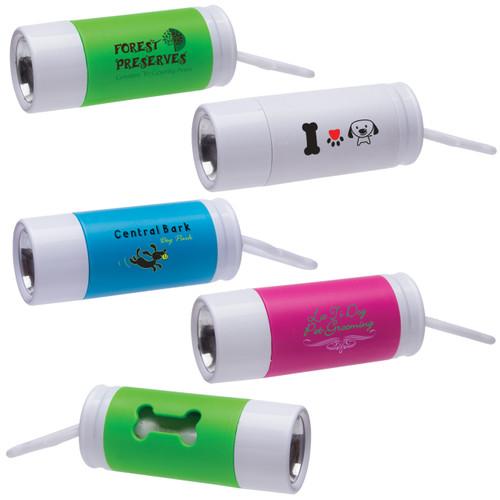 Custom Printed Light Up Waste Bag Dispenser