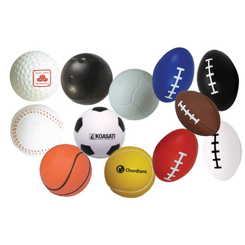 Customized Stress Balls - Sports Themed Stress Relievers