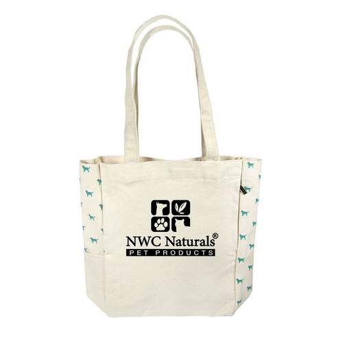 Promotional Doggie Print Tote Bag