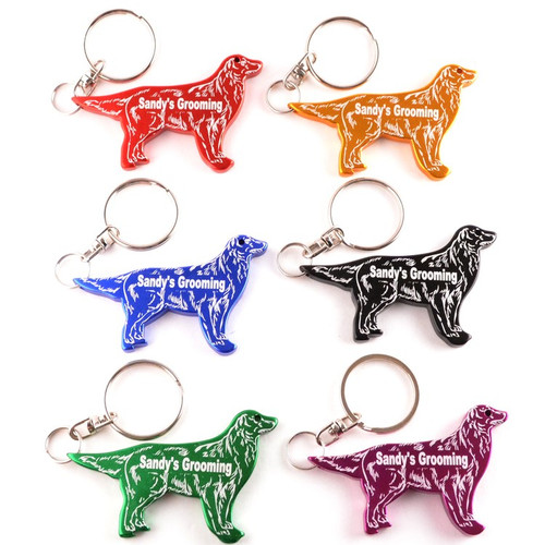 Dog Key Chain/Bottle Opener with Custom Imprint