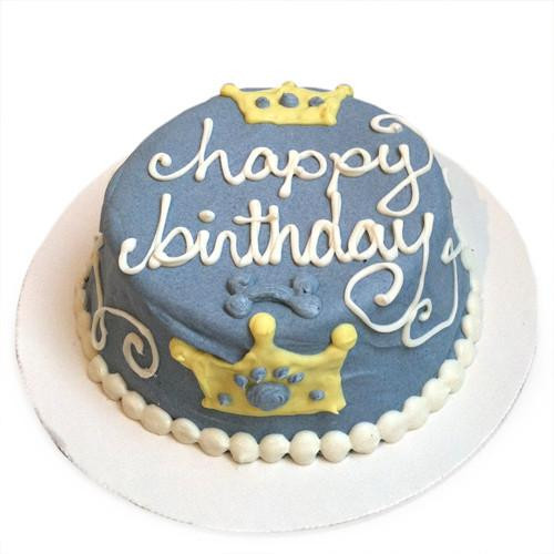 Customized Prince Birthday Cakes for Dogs - Organic