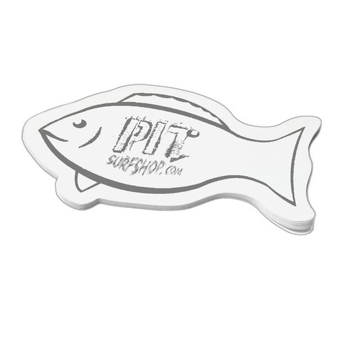 Fish Shaped Post-It Notes for Promotions, 50 Sheets