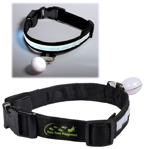 Custom Printed Promotional Light Up Pet Collar