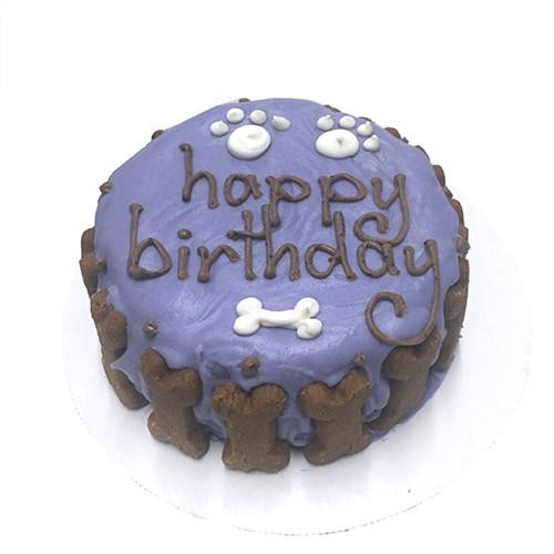 Customized Birthday Cakes for Dogs - All Natural, Organic - PURPLE