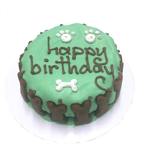 Customized Birthday Cakes for Dogs - All Natural, Organic - GREEN