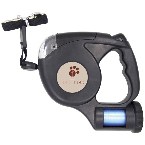 Promotional LED Retractable Dog Leash with Bags