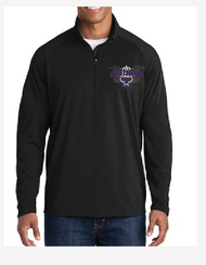 NORTH THURSTON BAND 1/2 ZIP PULLOVER