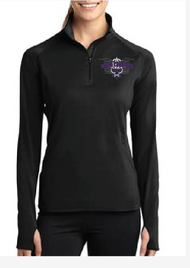 NORTH THURSTON BAND LADIES 1/2 ZIP PULLOVER