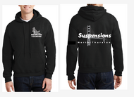 "NORTH THURSTON BAND ""SUSPENSION"" HOODED SWEATSHIRT"