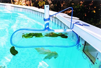 POOL LEAF RAKE WITH BRACKET (B4000C) FOR ABOVE GROUND POOL
