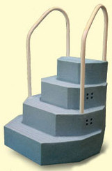 King Drop-In Step for Above Ground Pool, Blue Granite (30131)