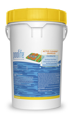 Poolife Calcium Hypochlorite, Active Cleaning Granules, 100 lb. (22230)