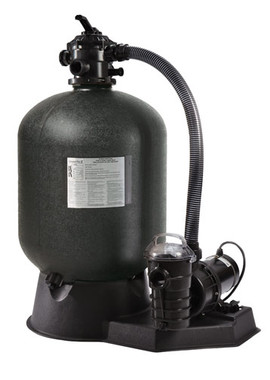 """24"""" Pentair Cristal-Flo II Sand Filter with 1 1/2 hp Pump (SRCF2022DO1160)"""