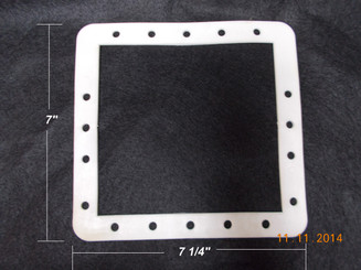 HAYWARD ABOVE GROUND SKIMMER FACE PLATE DOUBLE RUBBER GASKET BUTTERFLY (SPX1091-G)
