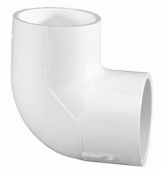 PVC 90 Degree Elbow, SCH40