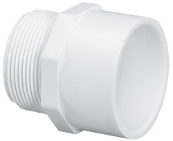 PVC Male Adapter, SCH40, S