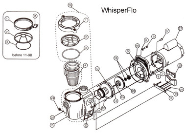Pentair Whisper Flo Pump
