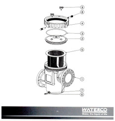 Waterco Poly Commercial Pump Strainer