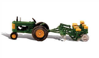AS5565 HO Woodland Scenics Tractor & Planter
