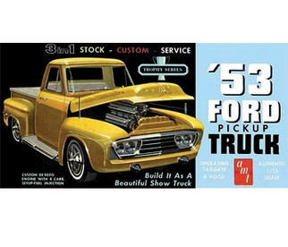 AMT882 AMT 1953 Ford Pickup 1/25 Scale Plastic Model Kit
