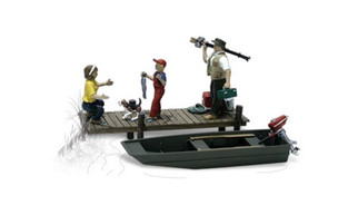 A2756 Woodland Scenics O Family Fishing