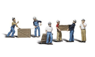 A2729 Woodland Scenics Dock Workers