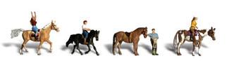 A1889 Woodland Scenics HO Horseback Riders