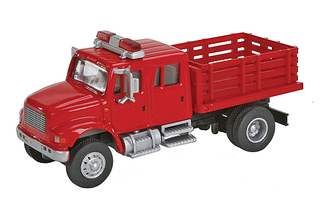 949-11892 HO Walthers SceneMaster(TM) International 4900 Fire Department Utility Truck