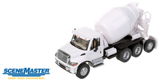949-11678 HO Walthers(R) SceneMaster International 7600 3-Axle Cement Mixer-Assembled
