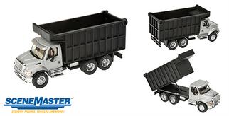 949-11677 HO Walthers SceneMaster International 7600 Dual-Axle Coal Dump Truck