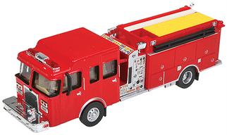 949-13800 HO Walthers SceneMaster Heavy-Duty Fire Engine