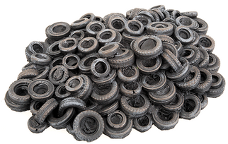 933-3637 HO Walthers Cornerstone Series(TM) Tire Scrap