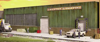 933-3191 Walthers HO Cornerstone Series(R) Background Building - Kit Lauston Shipping