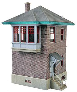 933-2982 HO Walthers Cornerstone(R) PRR Block and Interlocking Station Kit
