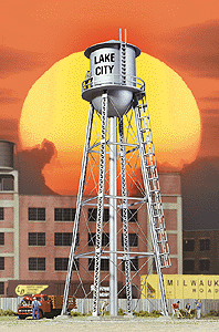 933-2826 HO Walthers City Water Tower-Built Up