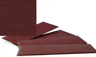 933-3523 Walthers Cornerstone Series HO Detail Parts - Brick Sheets