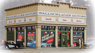 931-805 HO Walthers Trainline(R) Wallschlager Motors Built-Up