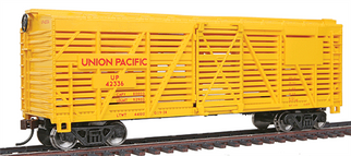 931-1680 Walthers Trainline 40' Stock Car-Union Pacific