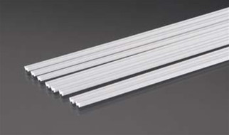 90593 Plastruct Zee Bar Styrene 1/8""