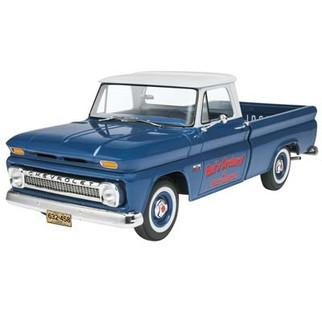 85-7225 Revell '66 Chevy Fleetside Pickup 1/25 Scale Plastic Model Kit