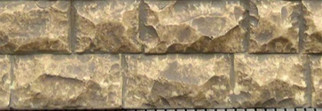8264 HO/O/G Chooch Enterprises-Large Cut Stone Wall