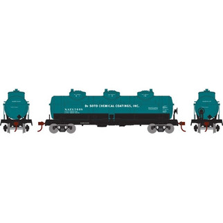 74465 HO Athearn Triple Dome Tank Car-De Soto Chemical NATX3444