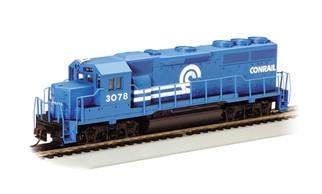 63516 HO Bachmann EMD GP40 Diesel Locomotive-Conrail #3078