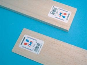 """6304 Midwest Products Balsa Wood 1/8"""" x 3"""" x 36"""""""