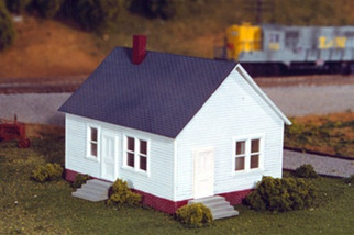 628-0201 HO Rix Products Maxwell Avenue Home Kit